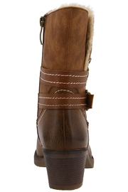 Spring Footwear Cold Cowgirl Bootie - Front full body