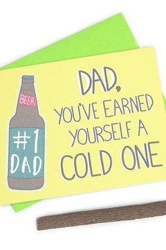 Shoptiques Product: Cold One Dad Card