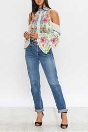 Flying Tomato Cold Shoulder Blouse - Product Mini Image