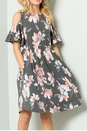 Jen Cold Shoulder Dress - Product Mini Image