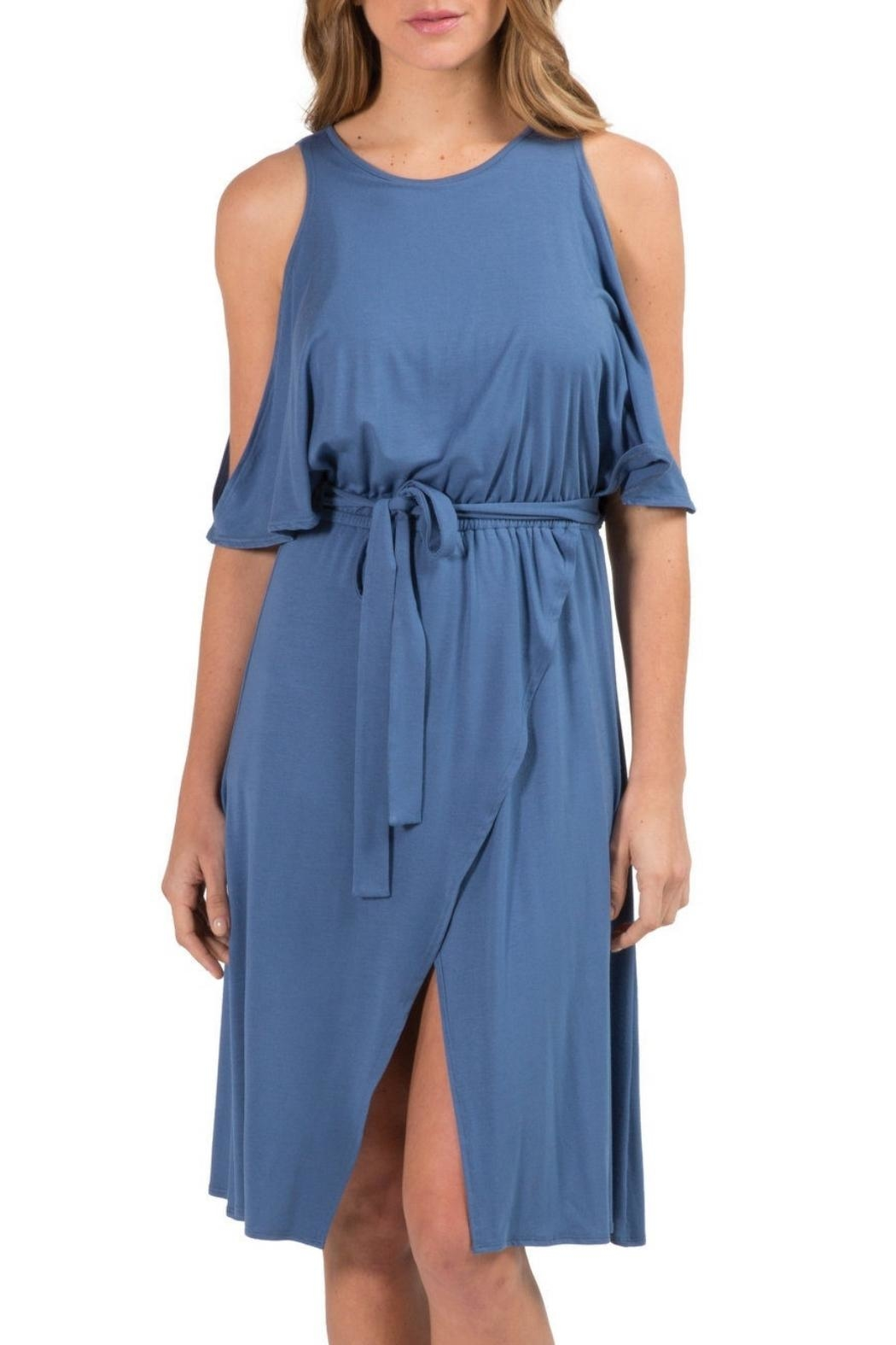 Elan Cold Shoulder Dress - Main Image