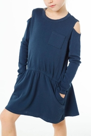 Chaser Cold Shoulder Dress - Product Mini Image