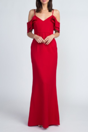 Minuet Cold Shoulder Gown - Side cropped