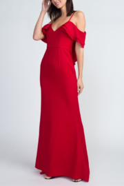 Minuet Cold Shoulder Gown - Front cropped