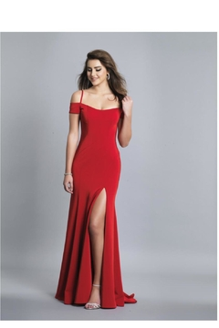 Dave and Johnny Cold Shoulder Gown - Product List Image