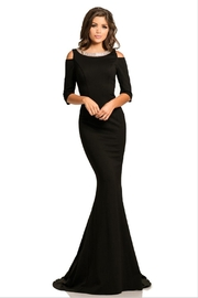 Johnathan Kayne Cold Shoulder Gown - Product Mini Image