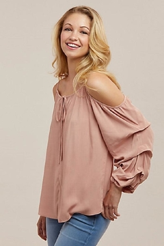 Wrangler Cold-Shoulder Peasant Top - Alternate List Image