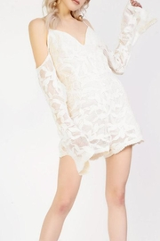 Glamorous Cold Shoulder Playsuit - Product Mini Image