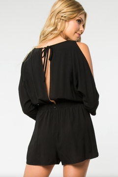Everly Cold Shoulder Romper - Alternate List Image