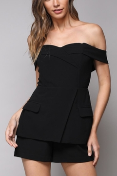 Do & Be Cold Shoulder Romper - Product List Image