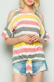 ee:some Cold Shoulder Stripe - Product Mini Image