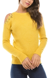 1 Funky Cold Shoulder Sweater - Product Mini Image