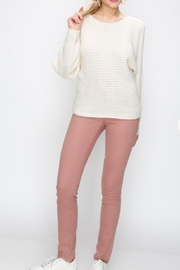 Starrs On Mercer Cold Shoulder Sweater - Product Mini Image