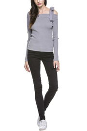 After Market Cold Shoulder Sweater - Product Mini Image