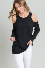A Beauty by BNB  Cold Shoulder Sweatshirt - Product Mini Image