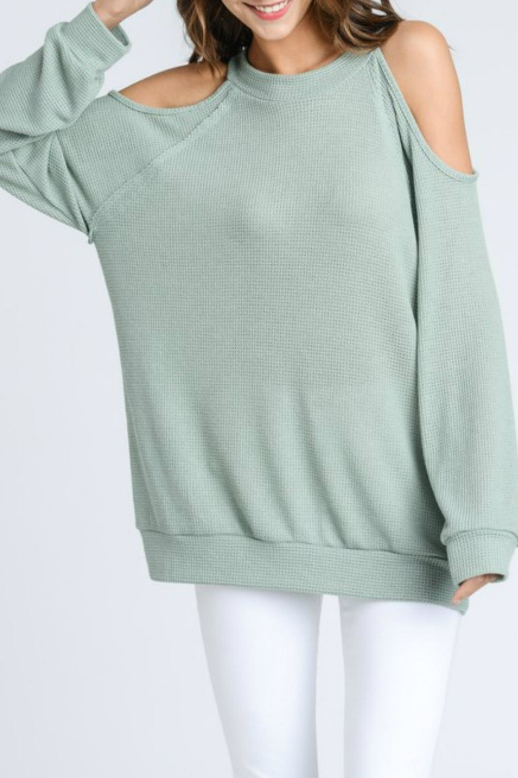 ee:some Cold Shoulder Thermal - Front Full Image