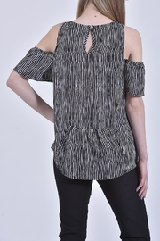 Mud Pie Cold-Shoulder Top - Front full body
