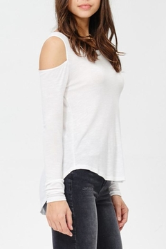 Wasabi + Mint Cold Shoulder Top - Product List Image