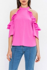 Jealous Tomato Cold Shoulder Top - Product Mini Image