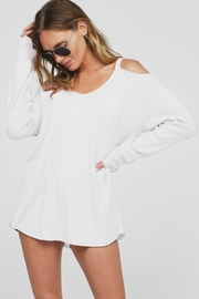Wild Lilies Jewelry  Cold Shoulder Top - Product Mini Image