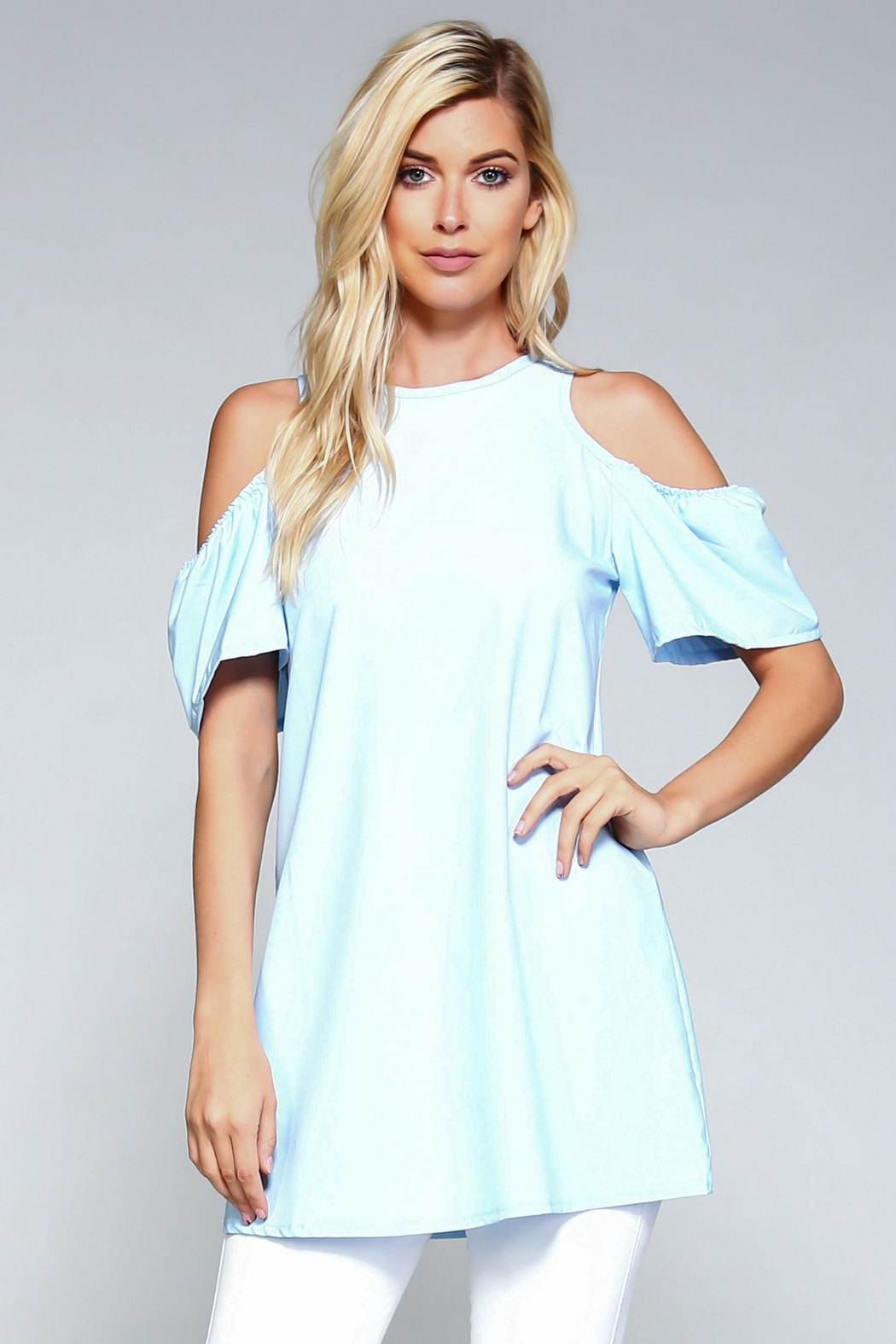 Racine Cold Shoulder Top - Main Image