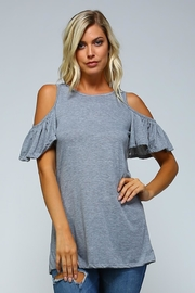 Racine Cold Shoulder Top - Product Mini Image