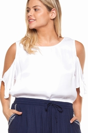 Dex Cold Shoulder Top - Product Mini Image