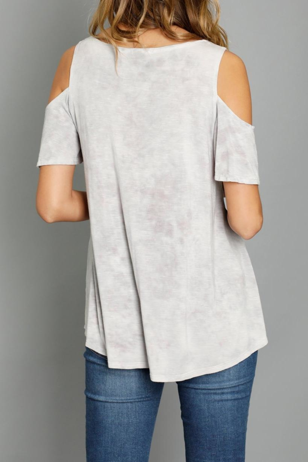 Mod-o-doc Cold Shoulder Top - Front Full Image