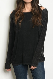 Very J Cold Shoulder Tunic - Product Mini Image