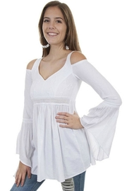 Scully Cold Shoulder Tunic - Product Mini Image