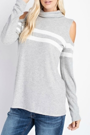 143 Story Cold Shoulder Turtleneck - Product Mini Image