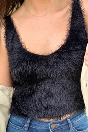 She + Sky Cole Fuzzy Cami Top - Side cropped