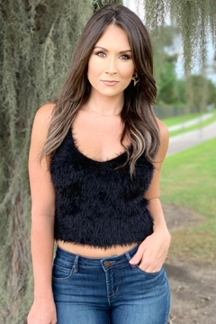 She + Sky Cole Fuzzy Cami Top - Product List Image