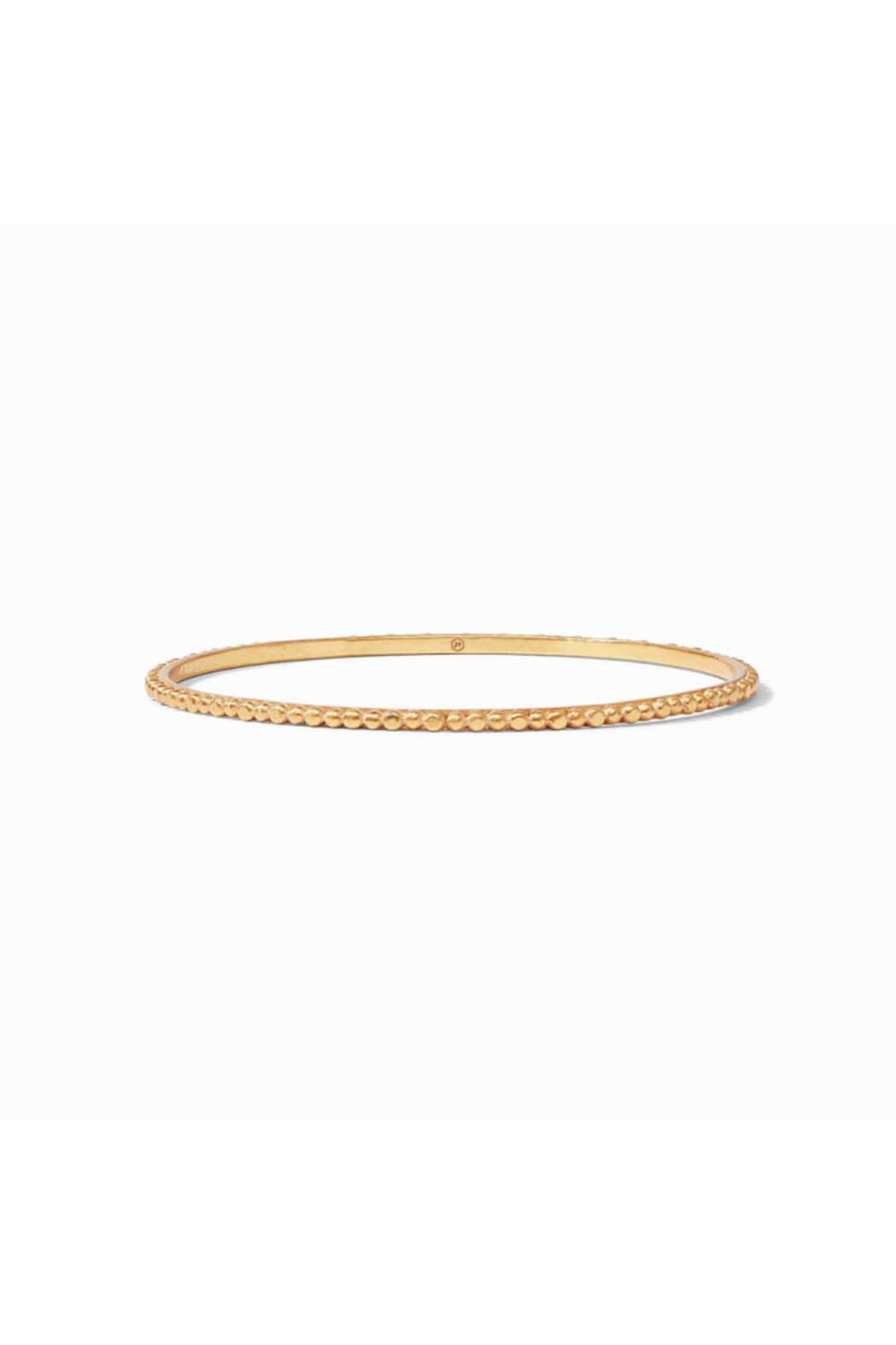 Julie Vos Colette Bead Bangle Gold Medium - Main Image