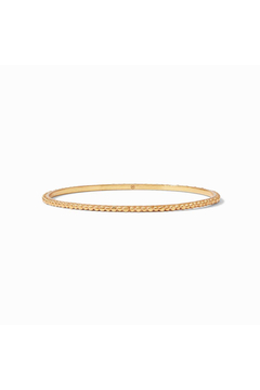Julie Vos Colette Bead Bangle Gold Small - Product List Image