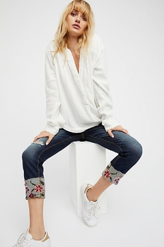 Driftwood Colette Embroidered Jean - Product List Image