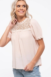 By the River Colette Lace Top - Other