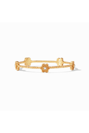 Julie Vos Colette Pearl Bangle Gold Pearl Small - Product Mini Image