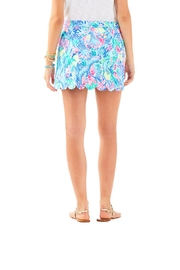 Lilly Pulitzer Colette Scallop-Hem Skort - Front full body