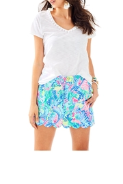 Lilly Pulitzer Colette Scallop-Hem Skort - Product Mini Image