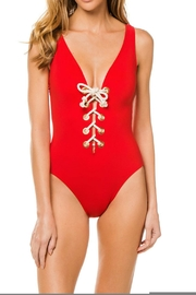 Karla Colletto Colette V-Neck One-Piece - Product Mini Image