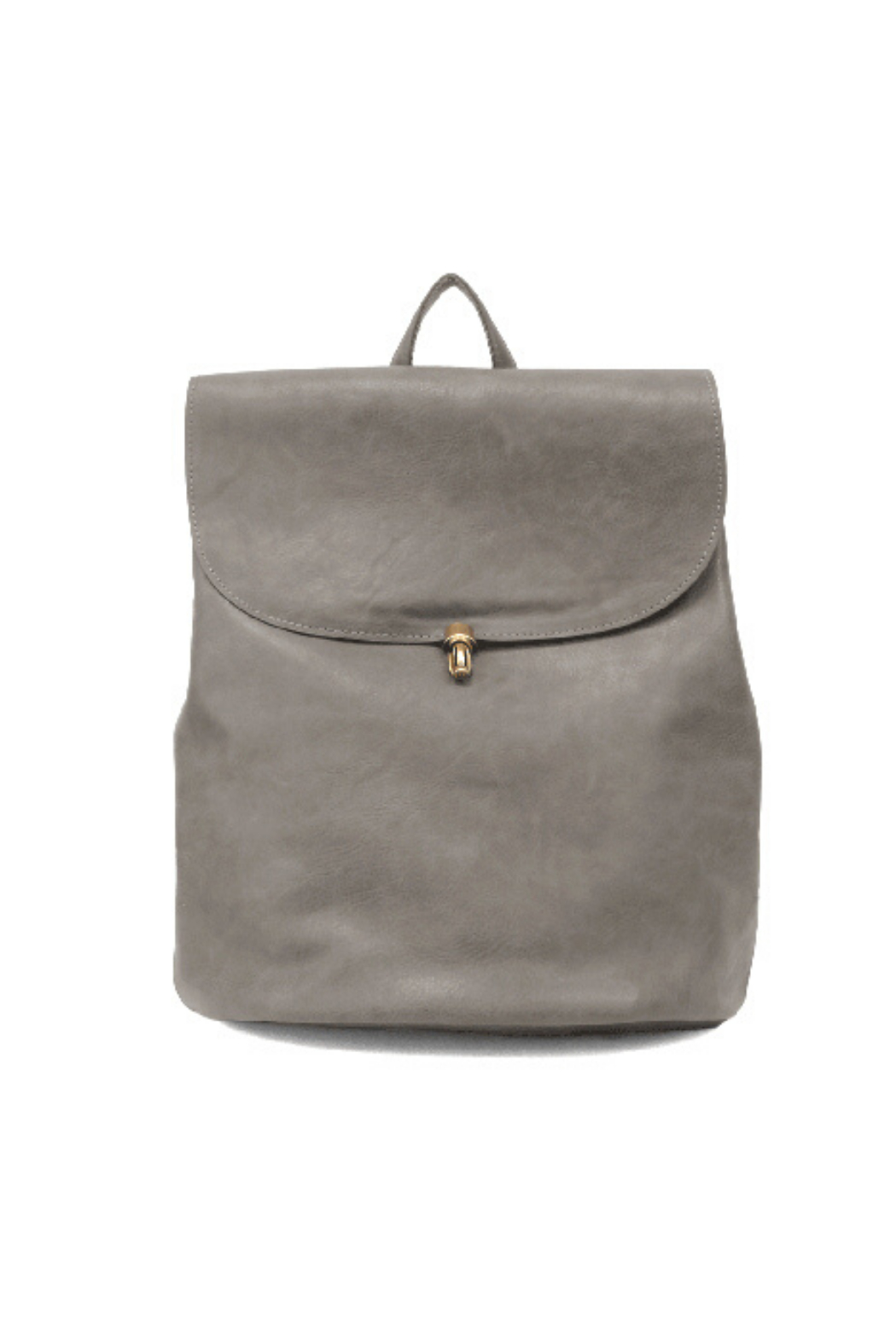 Joy Accessories Colette Vegan Leather Backpack - Front Cropped Image