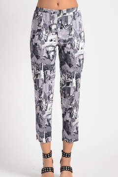 Lynn Ritchie Collage Cropped Pant - Product List Image