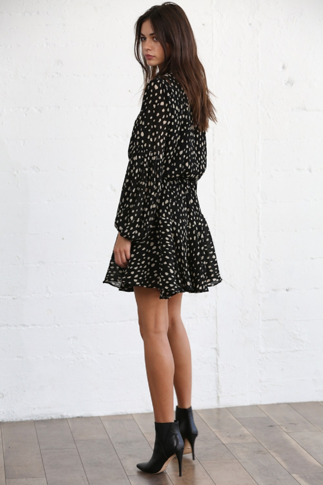 By Together  Collar Neck Dress - Front Full Image