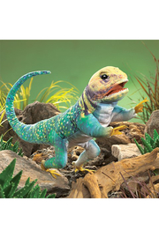 Folkmanis Collared Lizard Puppet - Product Mini Image
