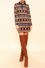 Available Collared Sweater Dress - Product Mini Image