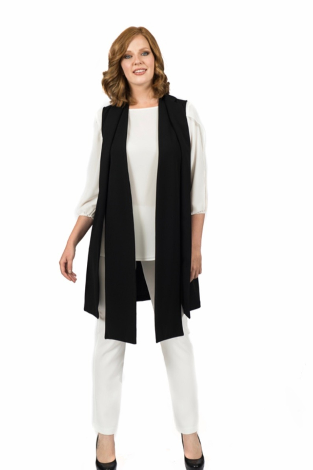 Scapa Collared Vest - Main Image