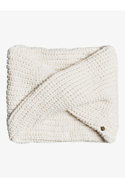 Roxy Collect Moment Knitted Infinity Scarf - Front cropped