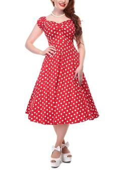 Collectif Dolores Polka Dress - Product List Image