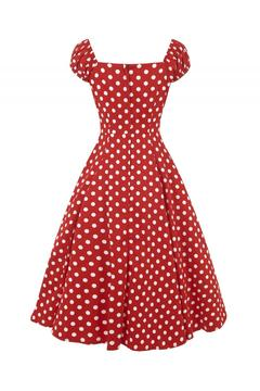 Collectif Dolores Polka Dress - Alternate List Image